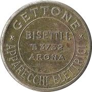 Jukebox Token - Gettone Apparecchi Elettrici (Bisetti I.) – obverse