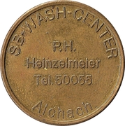 Car Wash Token - SB-Wasch-center (Aichach) – obverse