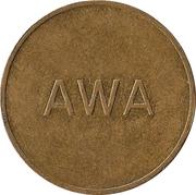Token - AWA (8) – obverse
