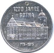 Token - Gotha (1200-th Anniversary) – obverse