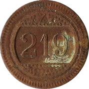 20 Centimes - A Consommer (219) – obverse
