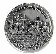 Token - Jamestown (350th Anniversary) – obverse