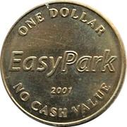 1 Dollar - EasyPark (Vancouver, British Columbia) – obverse