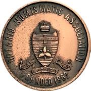 Medal - Ontario Numismatic Association Convention 1968 (Kitchener, Ontario) – obverse