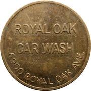 Car Wash Token - Royal Oak (Burnaby, British Columbia) – obverse