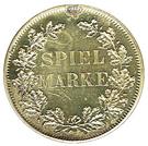 Spiel Marke (Bismarck) – reverse