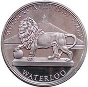 Token - Waterloo (Frederick William III of Prussia) – reverse