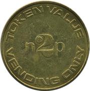 2 New Pence (Vending Token) – obverse