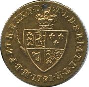Spade Guinea Gaming Token - George III (Brookes And Adams) – reverse