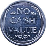 Token - No Cash Value (Bird Head In Hat) – reverse