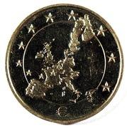 1 Frank / 1 Euro – obverse