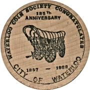 50 Cents - Waterloo Coin Society – obverse