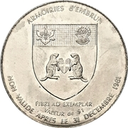 1 Dollar - Embrun, Ontario (125th Anniversary) – obverse