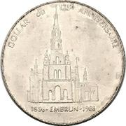 1 Dollar - Embrun, Ontario (125th Anniversary) – reverse