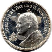 Token - Ioannes Paulus II (Ars Lyon 1986) – obverse