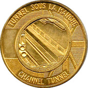 Token - Channel Tunnel First Junction – reverse
