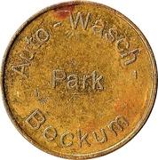 Car Wash Token - Auto-Wasch Park (Beckum) – obverse