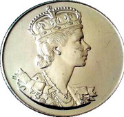 Medallion - Coronation of Elizabeth II – obverse