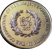 Medallion - Coronation of Elizabeth II – reverse