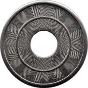 Car Wash Token (20 mm) – obverse