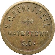 5 - S.C. Honeywell (Watertown, South Dakota) – obverse