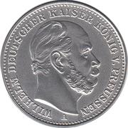 20 Mark - Wilhelm Deutscher Kaiser, König v. Preussen – obverse