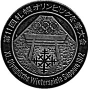 Token - XI Olympic Winter Games 1972 – obverse