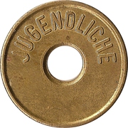 Public Swimming Pool Token (youth) – obverse