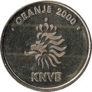 Token - KNVB Oranje 2000 (Dennis Bergkamp) – reverse