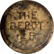 Token - The Depot 25 – obverse