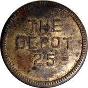 Token - The Depot 25 – reverse