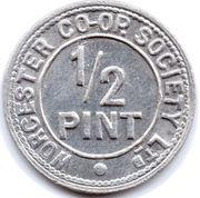 ½ Pint - Worcester CSL – reverse