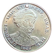 Medal - TRIM's Tribute to the 150th Anniversary of Independence of Brazil – obverse