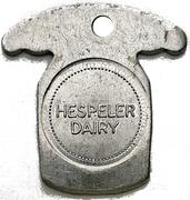 1 Quart Skim Milk - Hespeler Dairy (Hespeler, Ontario) – obverse