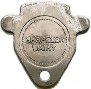 1 Quart Homo Milk - Hespeler Dairy (Hespeler, Ontario) – obverse