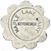 1 Pint - Maple Lane Dairy (Kitchener, Ontario) – obverse