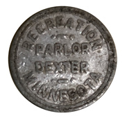 5 Cents - Recreation Parlor (Dexter, Minnesota) – obverse