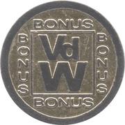 Token - VdW Bonus – obverse