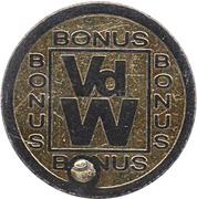 Token - VdW Bonus – reverse