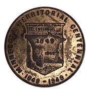 Token - Minnesota Territorial Centennial 1849-1949 – obverse