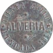 2 Centimos - Tienda Asilo (Almería) – obverse