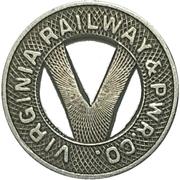 1 Fare - Virginia Railway & Power Co. (Richmond, Virginia) – obverse