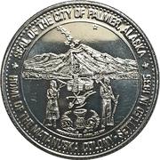 Palmer Dollar - Midsummer Festival (Palmer, Alaska) – reverse