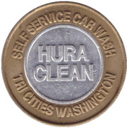 Car Wash Token - Hura Clean (Kennewick) – obverse