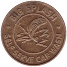25 Cents Wash Token - Big Splash (Saint Paul) – obverse
