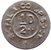 ½ Penny - Royal A. Co-op. Socy. – obverse