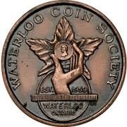 Medal - Waterloo Coin Society (Sixth Annual Banquet) – obverse
