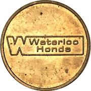 Carwash Token - Waterloo Honda – obverse
