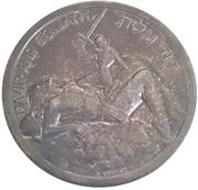 Medal - Israel 20th Anniversary – reverse