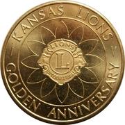 Medal - Kansas Lions Golden Anniversary – obverse